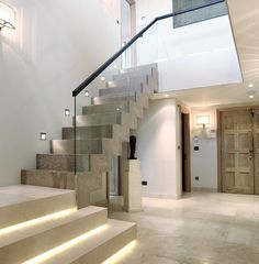 contemporary staircase with balustrade - Google Search