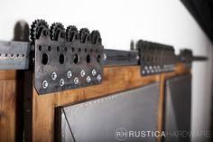 Warehouse Barn Door Hardware | Rustica Hardware                                                                                                                                                     Más