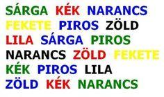 agytorna színekkel