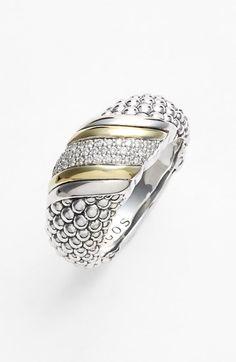 LAGOS Diamonds & Caviar Ring (#Nordstrom Exclusive) | Nordstrom.com #NSale