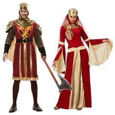 Pareja Medievales Granates #parejas #disfraces #carnaval  #novedades2015