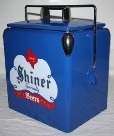 Awesome Shiner Bock Cooler