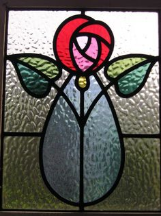 Rose by Holme Valley Stained Glass