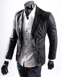 Jaqueta de Couro Masculina com 10% de desconto no boleto.  http://www.camisariarg.com/catalogo-masculino/jaqueta-masculina.html