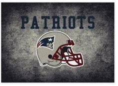 Milliken NFL New England Patriots 3-foot 10-Inch x 5-Foot 4-Inch Area Rug