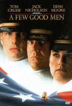 A Few Good Men - Tom Cruise, Jack Nicholson, Demi Moore, Jurgen Prochnow, Susan Sarandon Best Man Movie, See Movie, Man Movies, Movie List, Film Movie, Movies To Watch, Good Movies, Awesome Movies, Movies Free