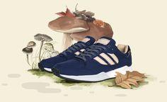 "Sneakersnstuff x #adidas Originals Tech Super ""Autumn Stories"" #sneakers"