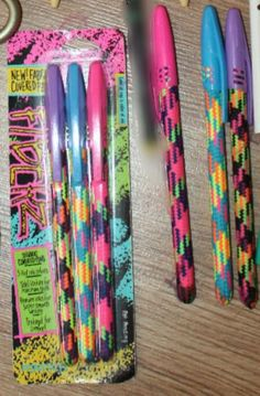 childhood I had these pens. Dont remember what grade though! 90s Childhood, My Childhood Memories, Sweet Memories, Summer Must Haves, School Memories, I Remember When, Oldies But Goodies, Ol Days, Teenage Years