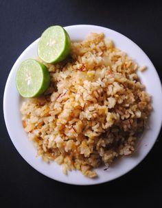 Arroz con Azafrán - Saffron Rice