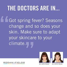Don't leave your skin stuck in a rut. As temperatures change, so do the needs of your skin. Take control by adapting your skincare to your climate for healthy-looking skin 365 days a year.https://spohlman.myrandf.com/Pages/OurProducts/ProductPhilosophy