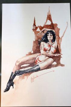 Jose Gonzalez - Vampirella Comic Art