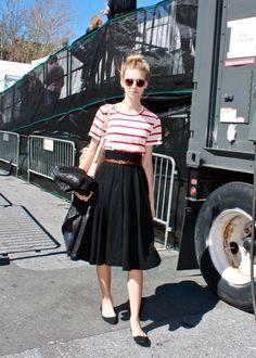 Emily Senko (in) Models Street Style