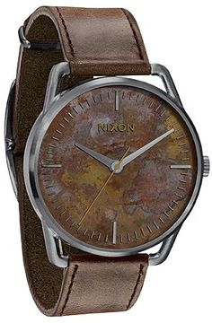 Nixon - The Mellor Watch Oxyde - wow, never seen anything like that before, i like it!