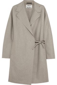 Acne Studios Ember wool-blend felt coat