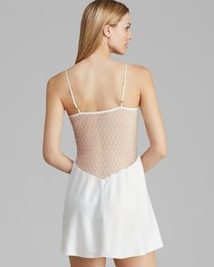 Flora Nikrooz Showstopper Charmeuse Chemise   Bloomingdale's