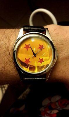 Dragonball 4 Star ball DBZ Dragon Ball Z Watch  Anime by Keatto