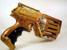 Steampunk Weapons | has modified their Nerf Guns to look more like Steam Punk Nerf Guns ...