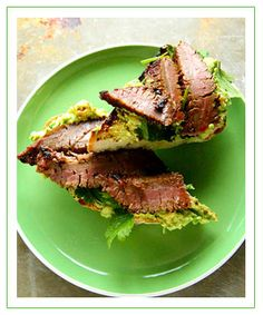 Grilled Steak Avocado Toast
