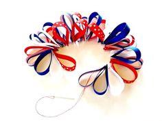 All ribbons threaded.