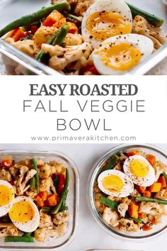 Best Paleo Recipes, Whole 30 Recipes, Easy Healthy Recipes, Fall Recipes, Healthy Meals, Healthy Food, Favorite Recipes, Vegetarian Meal Prep, Lunch Meal Prep