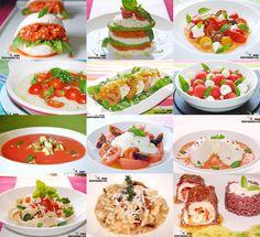 La combinación de mozzarella y tomate es un clásico, seguramente para la mayoría, la receta más conocida con estos dos ingredientes es la italiana Ensalada Caprese, pero hay tantas formas de disfrutar de ellos… y es lo que os mostramos en el recopilatorio de esta semana, Doce recetas con tomate y mozzarella.Sobre estas líneas podéis ver las propuestas que hemos reunido en las que el tomate y la mozzarella son los ingredientes estrella, hay muchas formas de disfrutar de esta combinación de…
