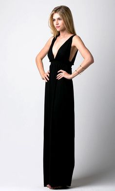 Maxi Dress in Classic Black