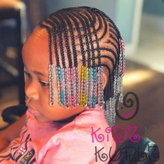 85 Box Braids Hairstyles for Black Women - Hairstyles Trends Little Girl Braid Styles, Kid Braid Styles, Little Girl Braids, Black Girl Braids, Braids For Kids, Braids For Black Hair, Girls Braids, Kids Braids With Beads, Braids Easy