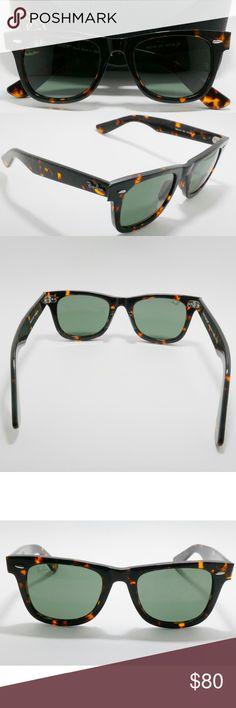 326051efd229f7 New classic tortise Wayfarer RB2140 Ray Ban 50mm Brand new Ray Ban Wayfarer  RB2140 sunglasses.