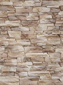 Textures Texture seamless | Wall cladding stone modern ...