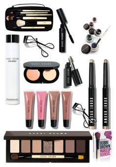 """Bobbi brown must haves (in my eyes)"" by ceskegg ❤ liked on Polyvore featuring beauty, Bobbi Brown Cosmetics, Beauty, makeup, neutral and BobbiBrown"