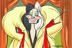 Cruella de Ville by Steve Thompson