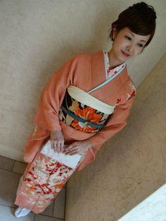 アンティーク訪問着×長羽織で結婚式へ*** | BabyDoll vintage clothing&more