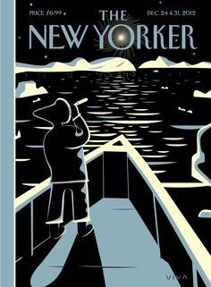 "The New Yorker - Monday, December 24, 2012 - Issue # 4479 - Vol. 88 - N° 41 - « World Changers » - Cover ""Top of the World"" by Frank Viva"