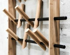 Hanger Get more from less. We Do Wood philosophy for its new products Super cute DIY backpack or coat hanger! A DIY home decor or craft idea that anyone can do. Deco Design, Wood Design, Design Table, Design Design, Design Ideas, Woodworking Plans, Woodworking Projects, Youtube Woodworking, Woodworking Equipment