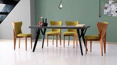 Leva Masa Palm Sandalye Set Palm, Dining Table, Furniture, Home Decor, Dinning Table, Interior Design, Dining Rooms, Home Interior Design, Arredamento