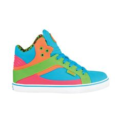 Womens Pastry Sire High Athletic Shoe - Blue/Multi - $44.99