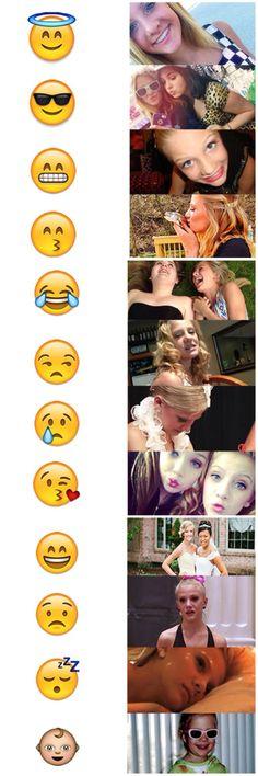 Paige emojis♡ {cr: maddieZforever}