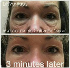 3 minutes! !!!! Eye Corrector Serum. ....only need a touch with nrf2 activation.
