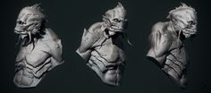 Deep One turn around by Martin Punchev | 3D | CGSociety