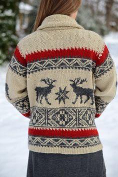 @Ralph Lauren sweater in the snow