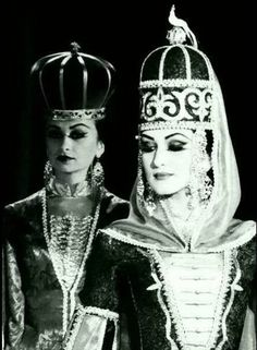 Circassian (Adyghe) Destroyer Of Worlds, World Pictures, Iconic Women, Casual Elegance, Photo Archive, Ethnic Fashion, Old World, Wearable Art, Street Photography