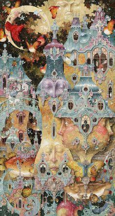Ocio Inteligente: para vivir mejor: Pintores de hoy (103): Daniel Merriam (USA, 1963).