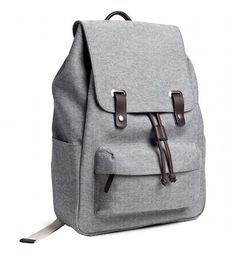 Nice Weekend Bag - reverse-denim backpack