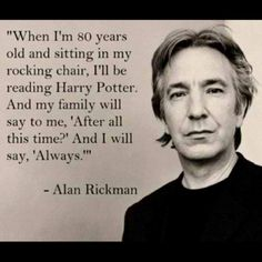Harry Potter love. Always.