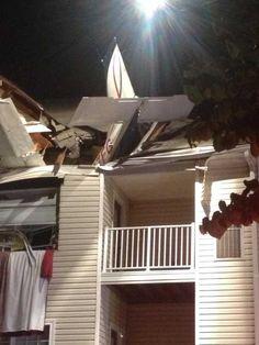 Plane crashes into apartment building