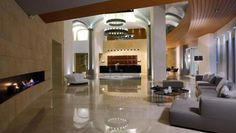 Lobby at Cavo Olympo Luxury Resort & Spa