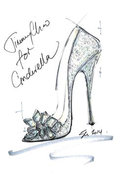 Jimmy Choo reimagines Cinderella's glass slipper in celebration of the forthcoming release of the live action version of Cinderella