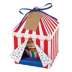 Toot Sweet Muffinbox Zirkus von Meri Meri