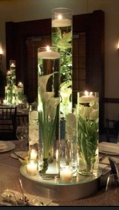 Water vases I LOVE THIS!!!