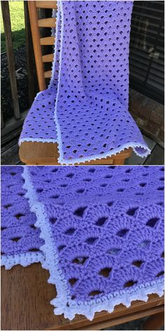 Crochet Skirt Pattern, Crochet Quilt, Manta Crochet, Crochet Home, Knit Or Crochet, Crochet Blanket Patterns, Baby Blanket Crochet, Crochet For Kids, Crochet Baby